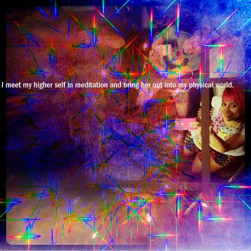 i meet my higher self in meditation