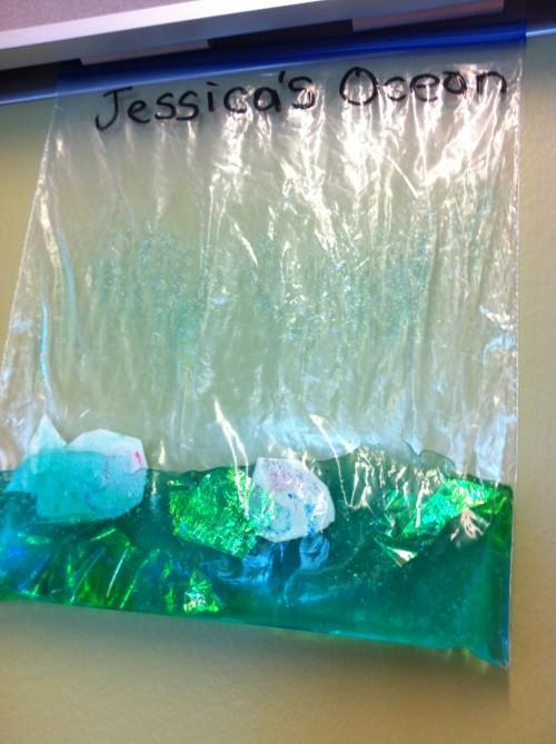 Jessica's ocean!