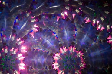 Inside a kaleidoscope