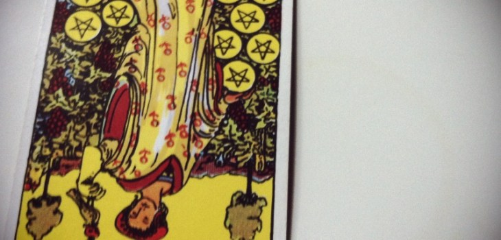 1 card #tarot, 9 of pentacles  Tonight you will find
