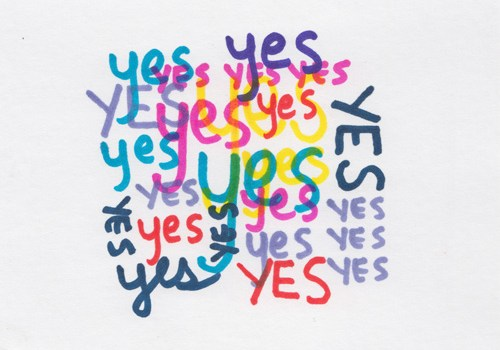 Yes by Kelly Cree
