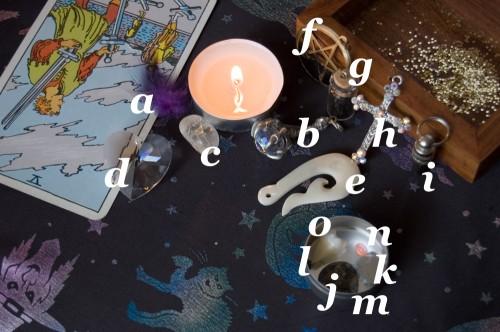 Jessica Mullen's Altar (guide)