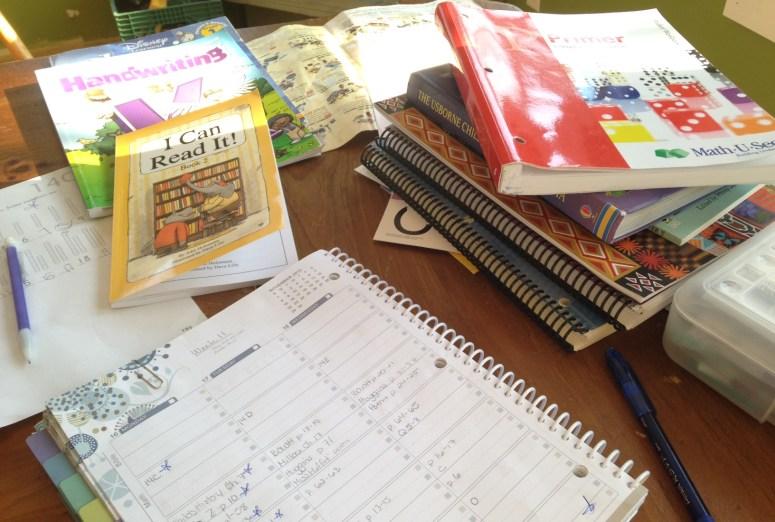 How I Manage Homeschooling and Our Home @JessicaMWhite.com