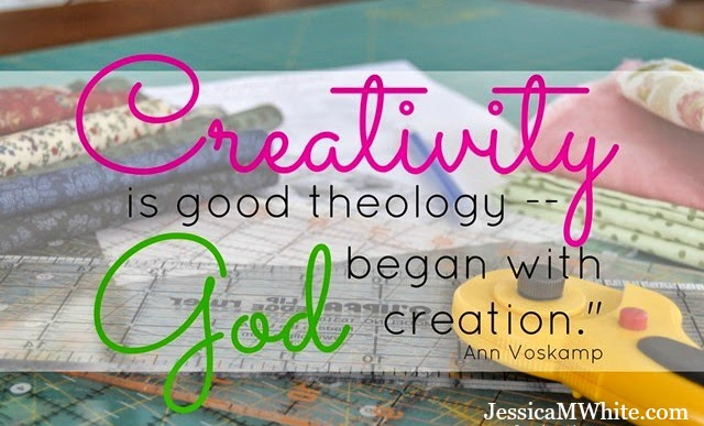 Creativity as an Act of Worship @JessicaMWhite.com