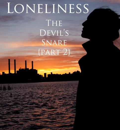 Losing Loneliness Part 2 The Devil's Snare @JessicaMWhite