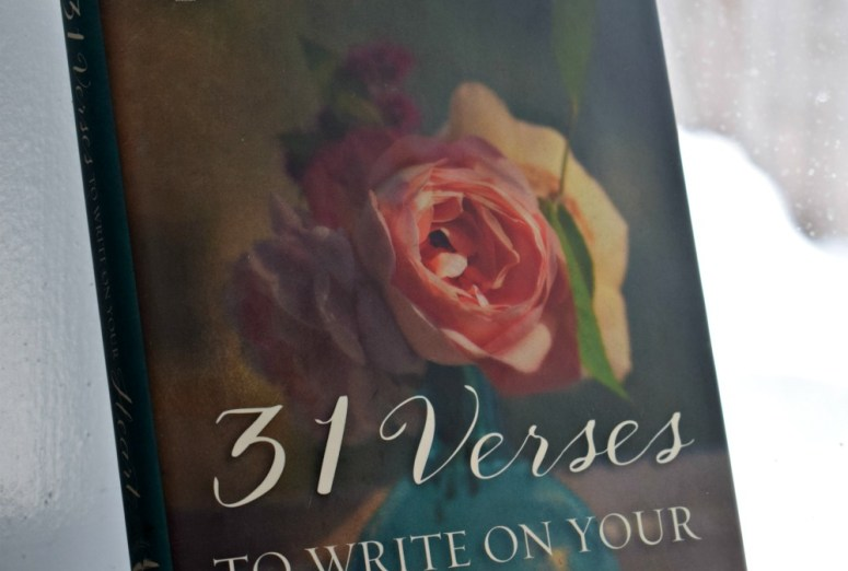 31 Verse to Write on Your Heart