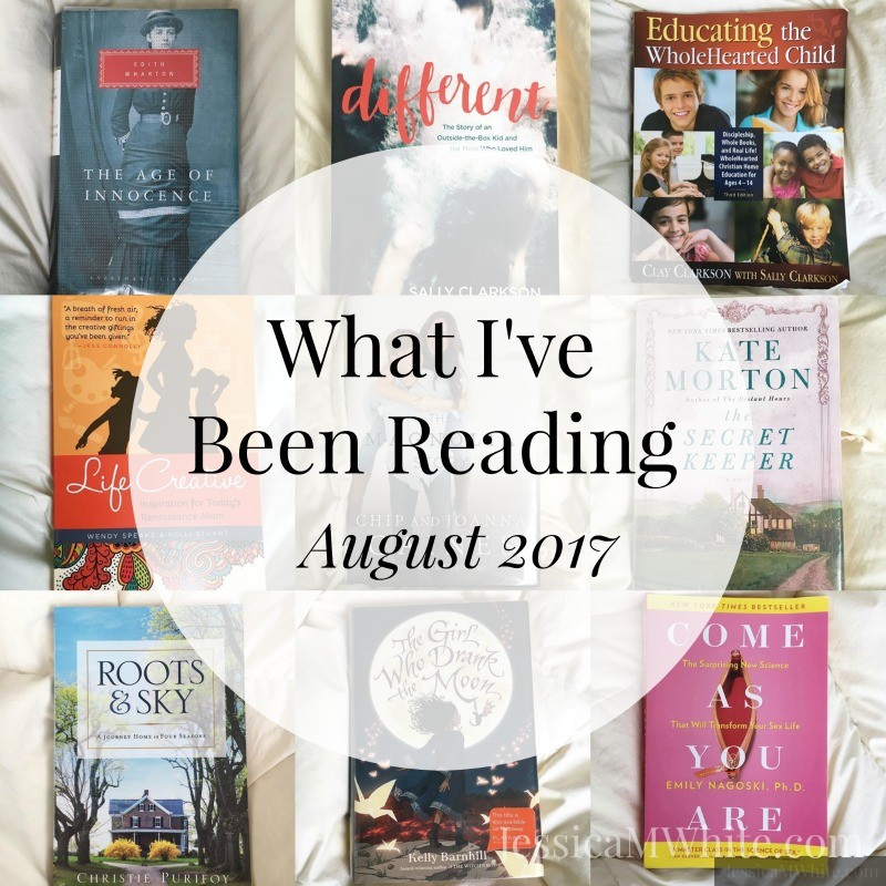 What I've Been Reading - August 2017