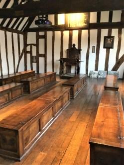 Shakespeare's classroom...