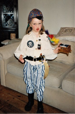 1997? I'm afraid that is a glass bottle of rum. As I said, I wasn't always a good parent.