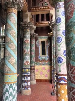Barcelona palau mosaics 2