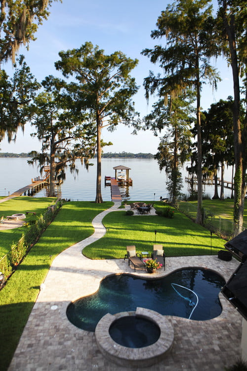 25+ Small Backyard Landscaping Ideas » Jessica Paster on Lakefront Patio Ideas id=36023