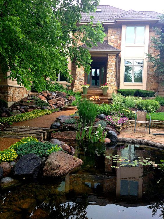 Top 15+ Small Front Yard Landscaping Ideas » Jessica Paster on Landscape Front Yard Ideas id=12070