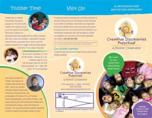 the brochure that I updated