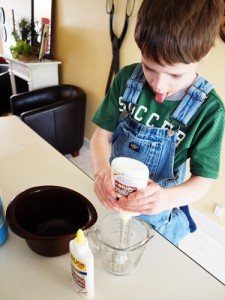 silly putty, goo, recipe
