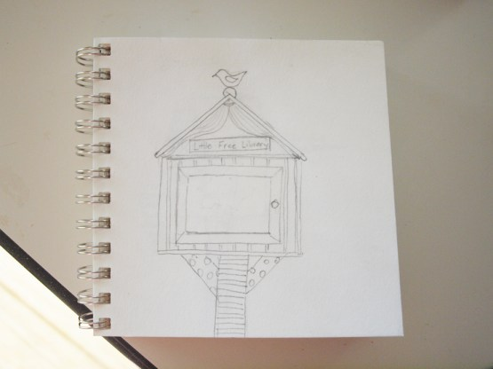 little library sketch