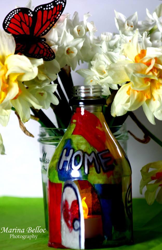 home votive by Marinett Ibarra