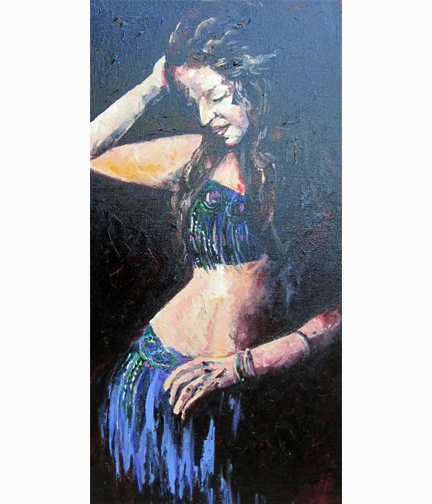 Painting: Bellydancer