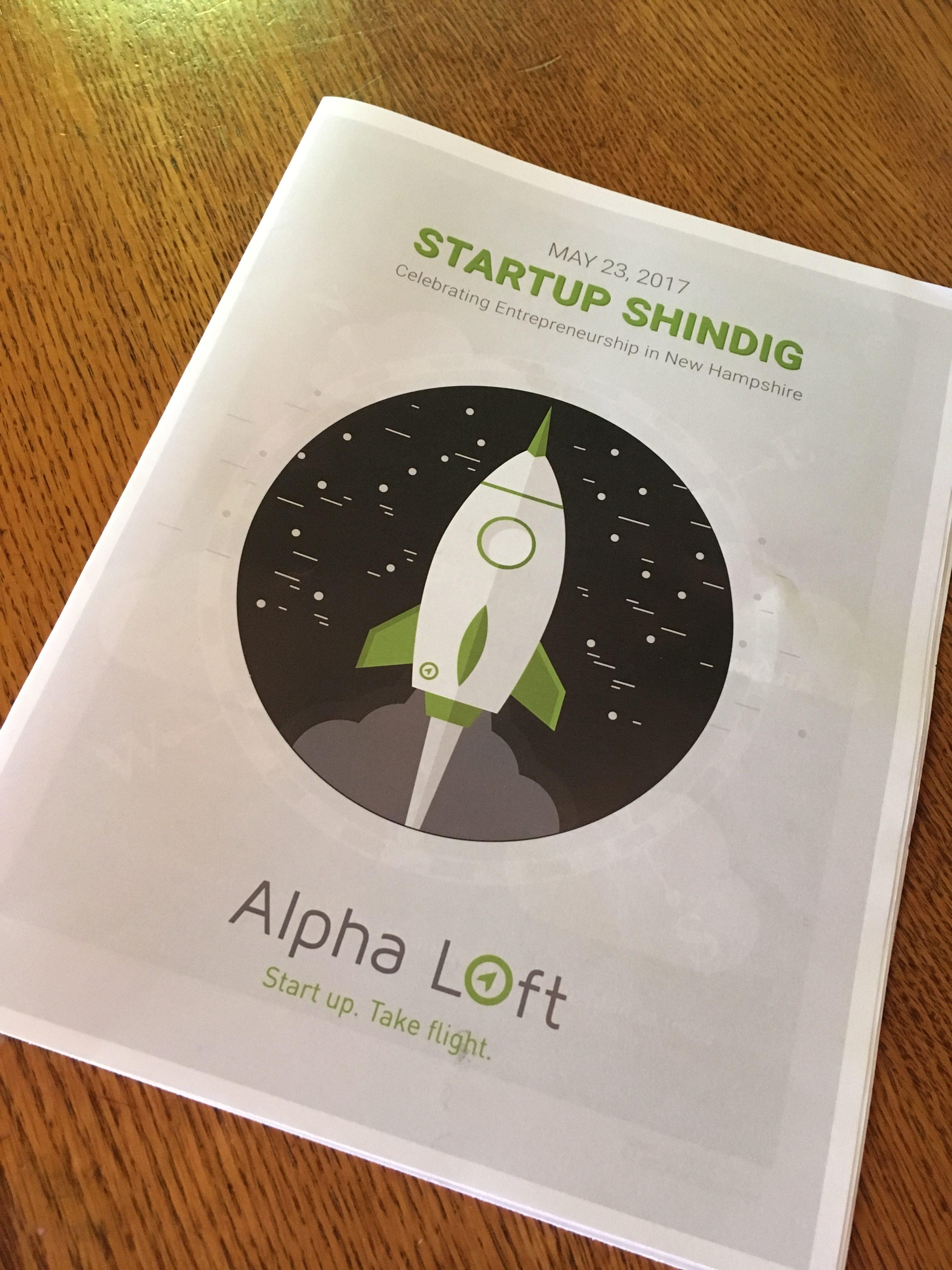 Print: Startup Shindig Cover Art
