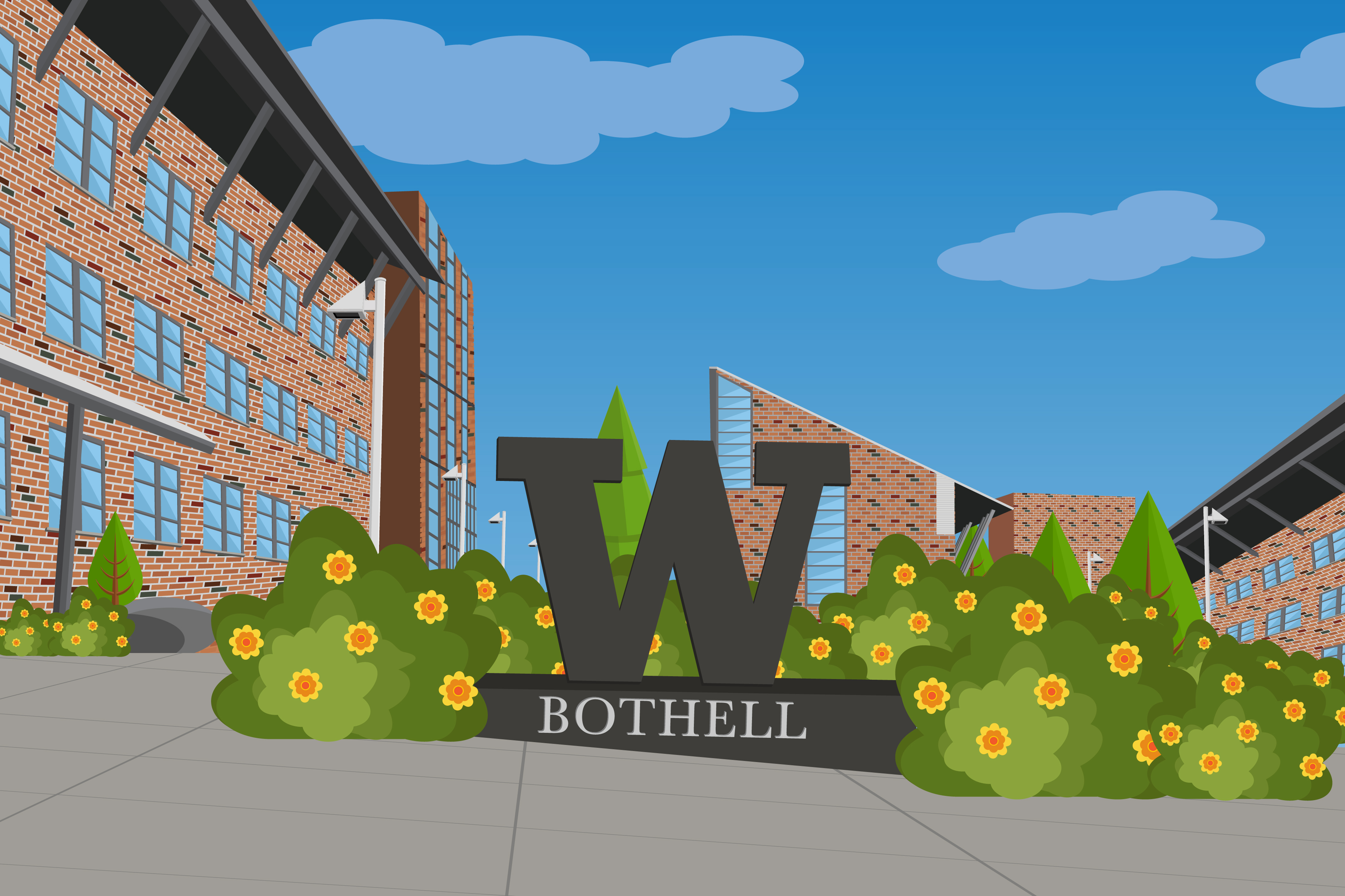 Intro to the Bothell Student Times Motion Graphic