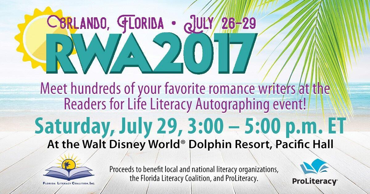 Literacy Signing At RWA 2017