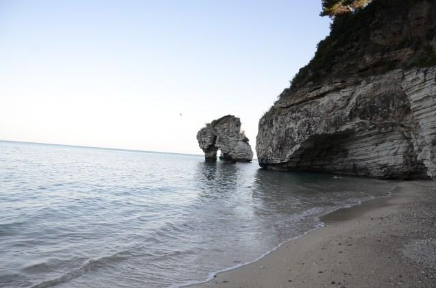 Un lido di Puglia, Italia