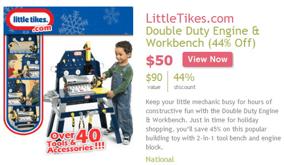 Little Tikes Double Duty Engine Amp Workbench 50 Shipped