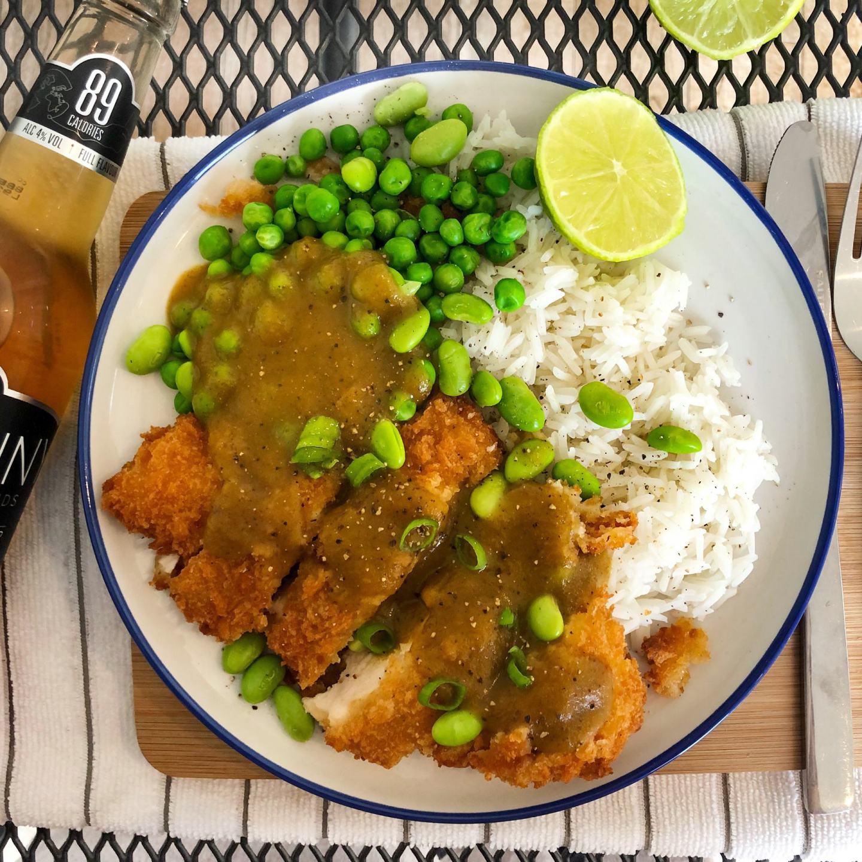 simple gluten free katsu curry