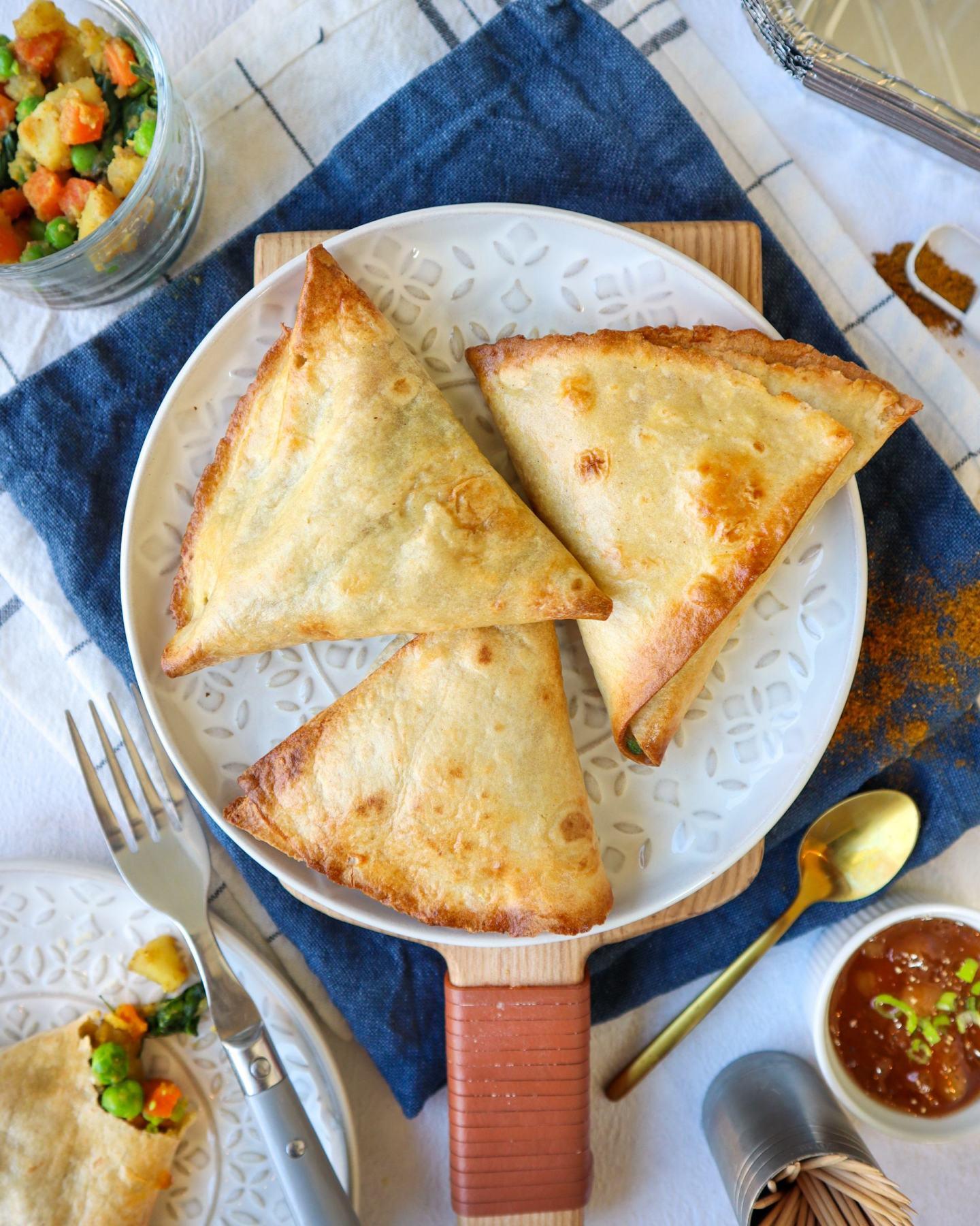 gluten free samosas samosa