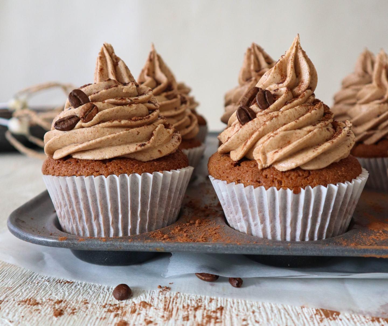 Gluten Free Mocha Cupcakes