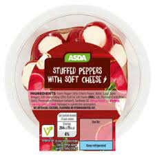 ASDA Stuffed Peppers with Cream Cheese - ASDA Groceries