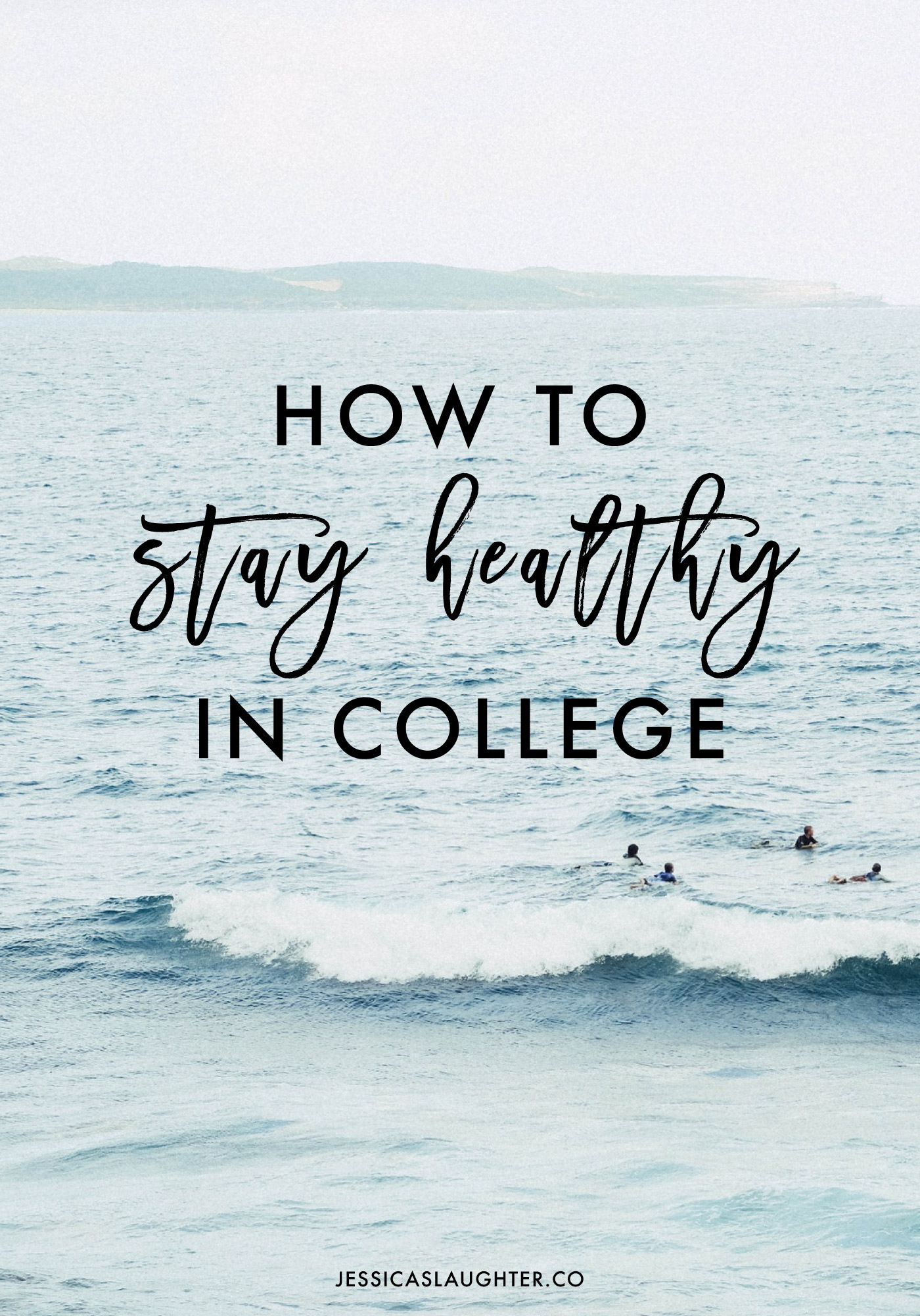 Staying healthy in college is SO important!