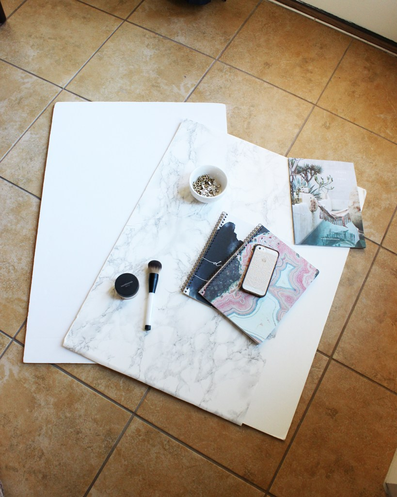 DIY Marble Photography Background