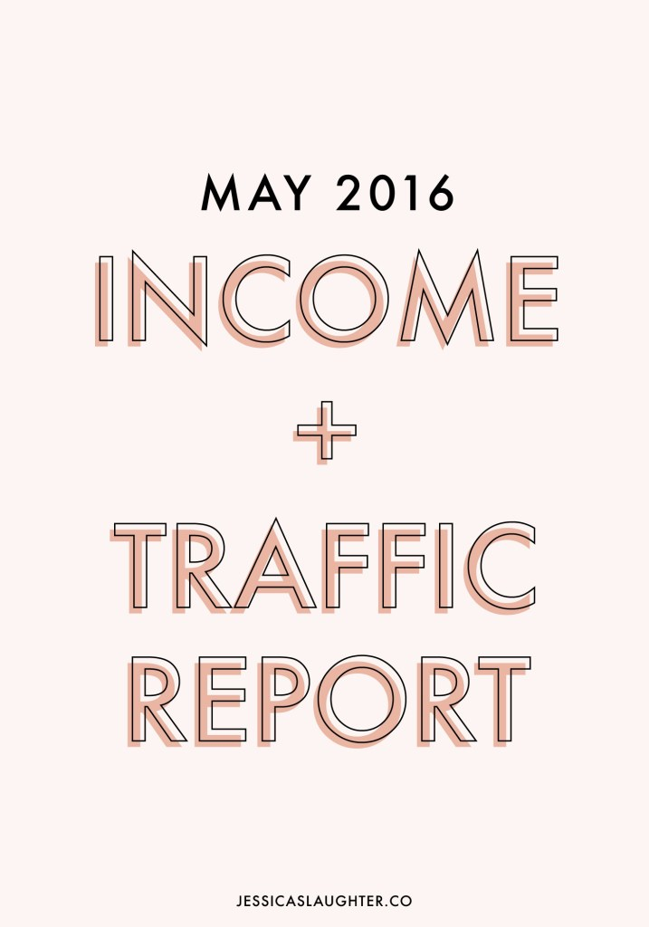 May 2016 Income + Traffic Report