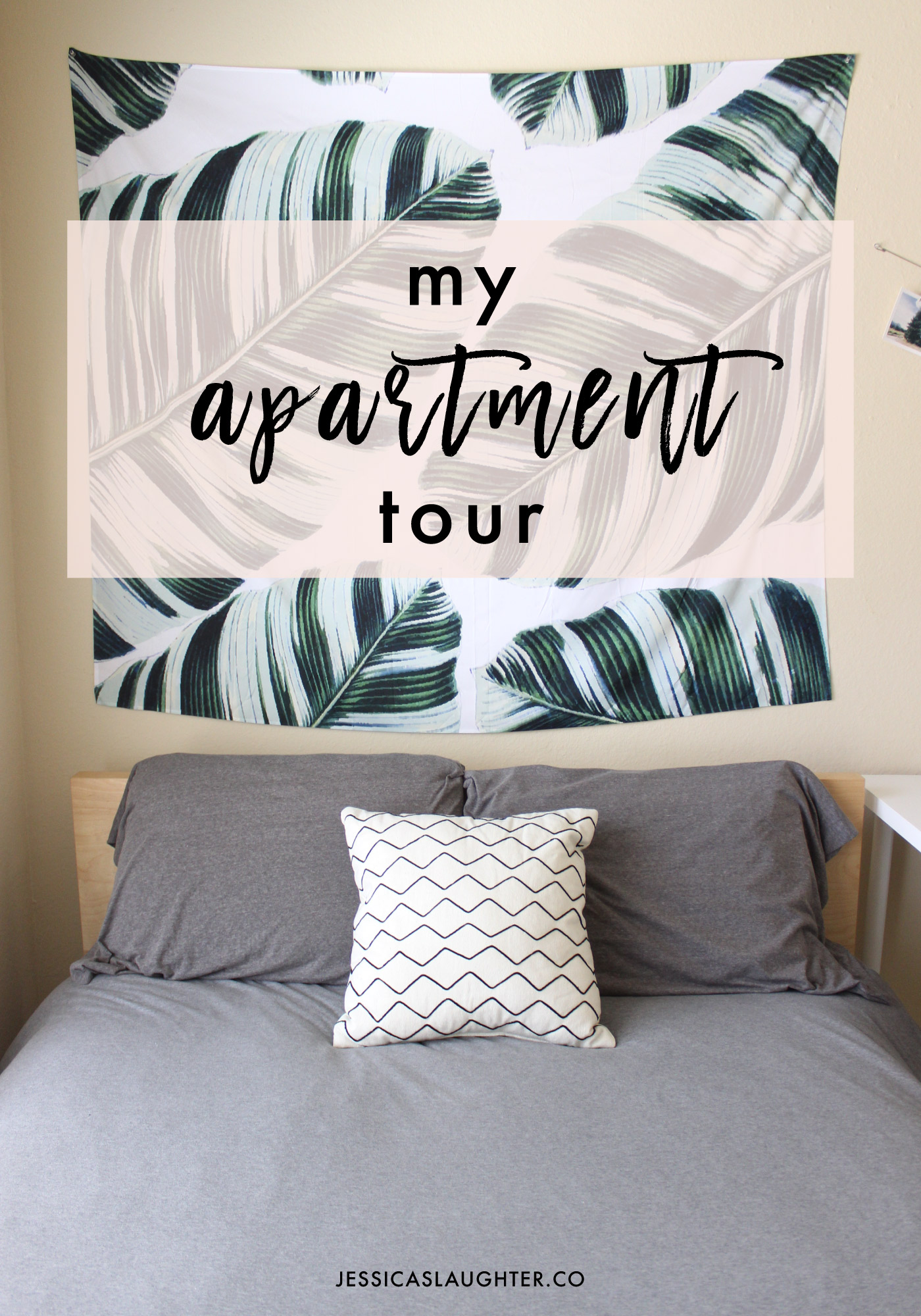 Apartment Tour 2016 | Jessica Slaughter