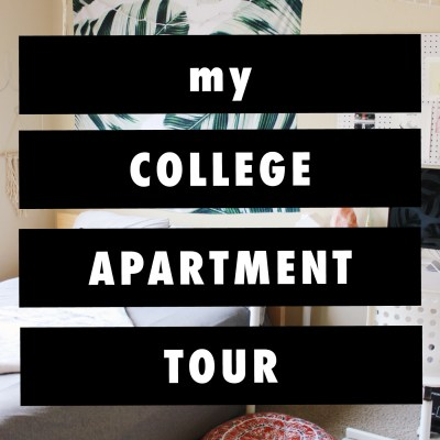 My College Apartment Tour
