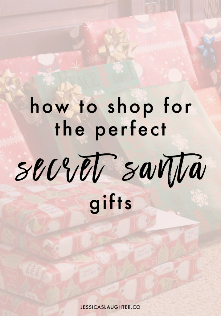How To Shop For The Perfect Secret Santa Gifts
