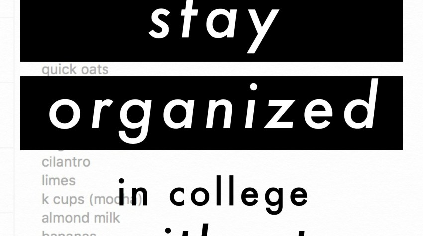 how i stay organized in college without a paper planner!   jessica slaughter