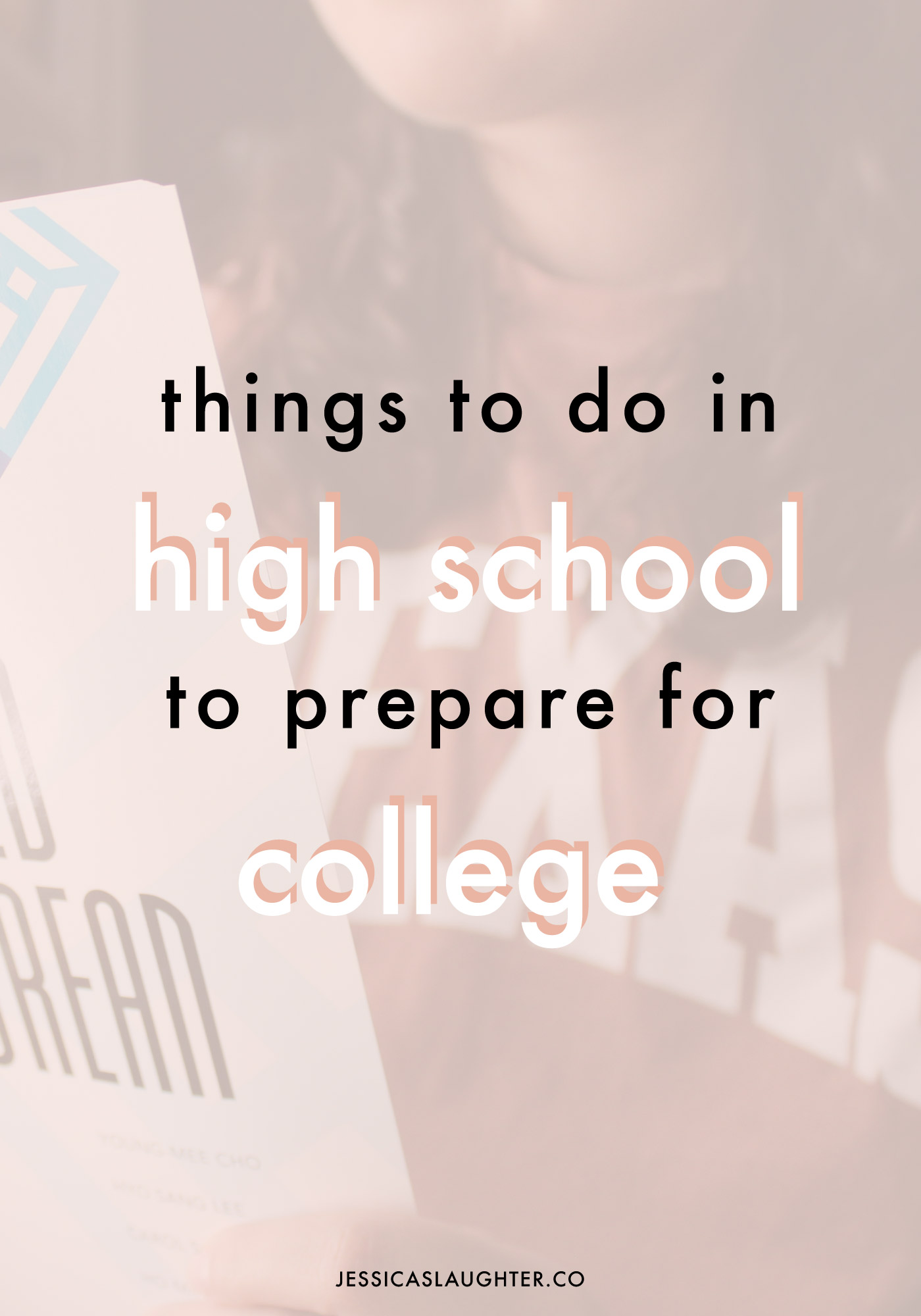 things to do in high school to prepare for college!