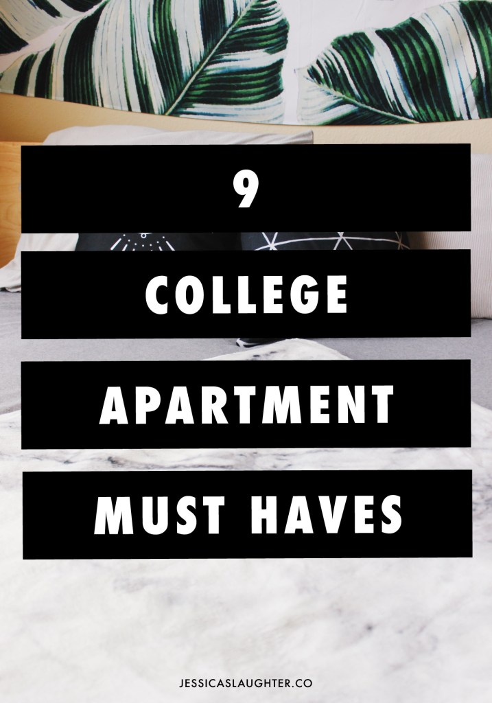 9 College Apartment Must Haves