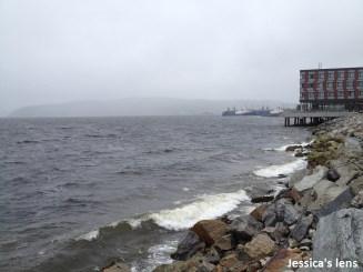 Bøkefjorden, North wind