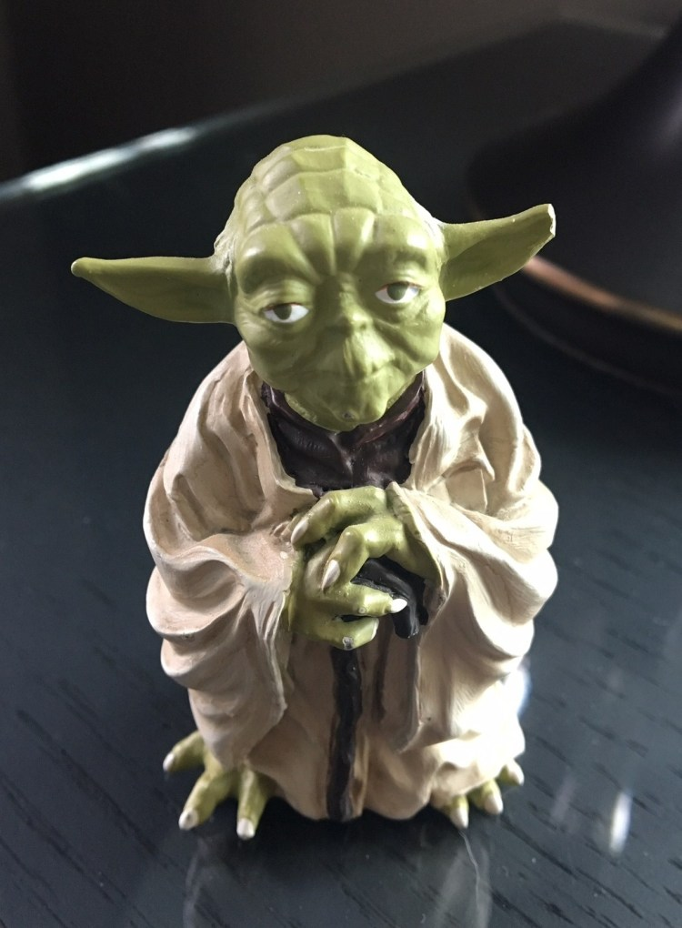 Photo of Yoda figurine