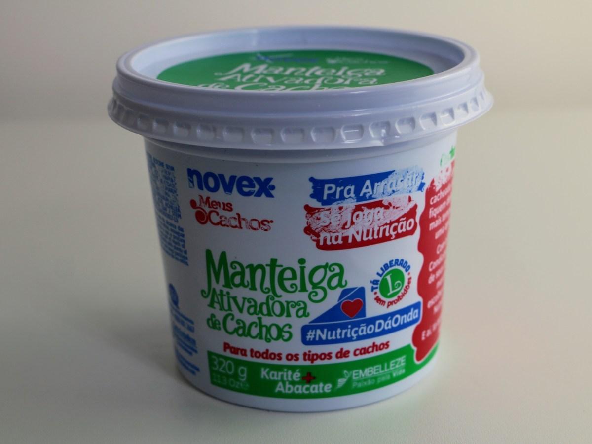 Manteiga para Cabelo Novex Meus Cachos Se Joga na Nutrição Ativadora de Cachos