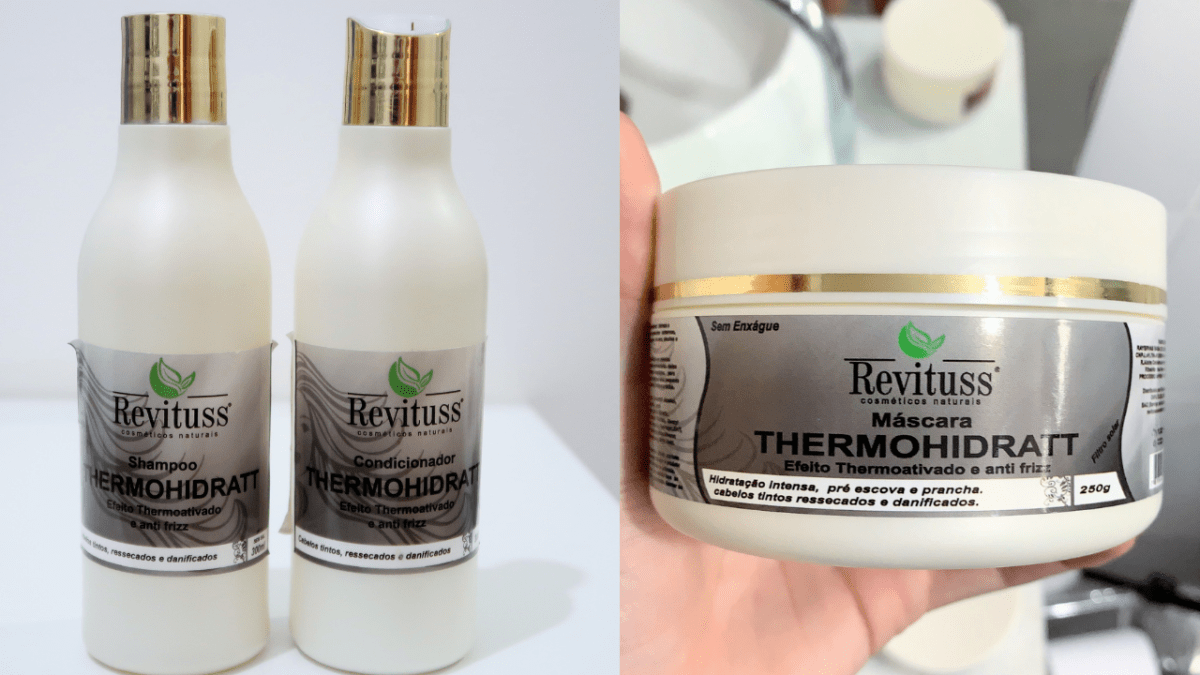 REVITUSS COSMÉTICOS | KIT THERMOHIDRATT  |  Jéssica Things