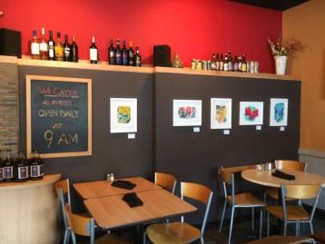 art at sobro cafe indianapolis