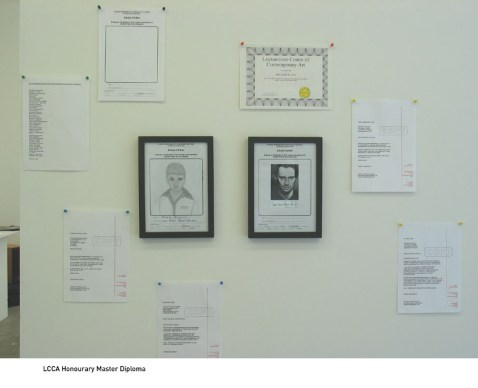 Honorary MA in Fine Art, Collective Gallery (2003)