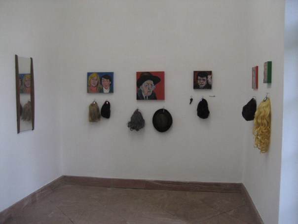 Installation View Crimefighters