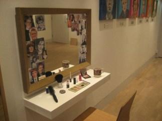 Installation View, make-up