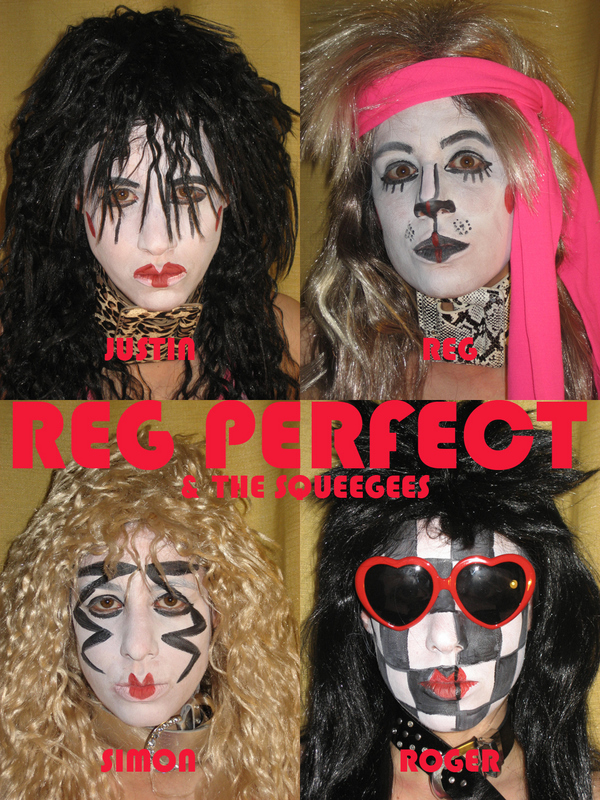 JV as Reg Perfect & The Squeegees, Poster (2009)