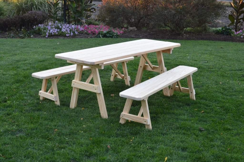Roseboom Traditional Picnic Table @jessicawellinginteriors.com