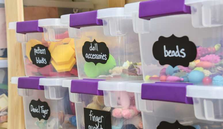 Organize all the Toys, Books, & Games!
